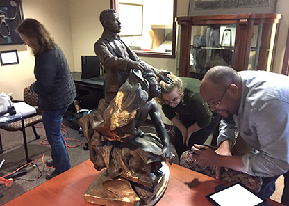 Icons memorializing founding Tuskegee president preserved through external partnerships