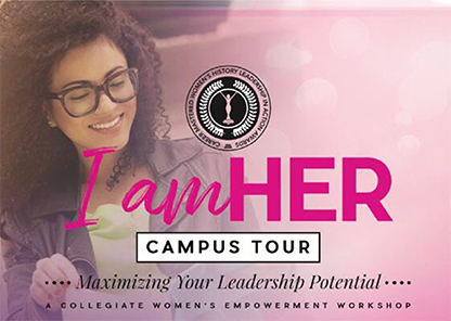 'I am Her' university campus tour to make stop at Tuskegee on Nov. 15
