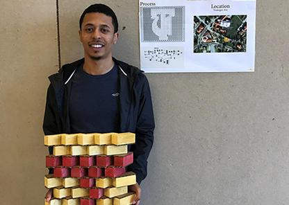 Student design competition provides architectural concepts for future donor recognition wall
