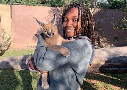 Tuskegee junior, Georgia native travels to South Africa for summer wildlife internship