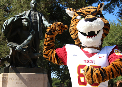 Tuskegee launches 'Name Our Tiger' mascot-naming campaign