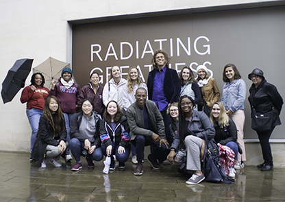 University of Redlands, Tuskegee study abroad students explore London together as part of continuing partnership