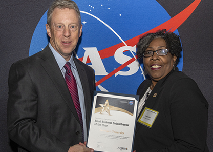 Tuskegee among recent NASA Marshall Space Flight Center research award winners