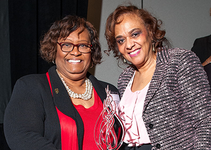 Hendricks honored with SREB's Workforce Diversity in Nursing Award