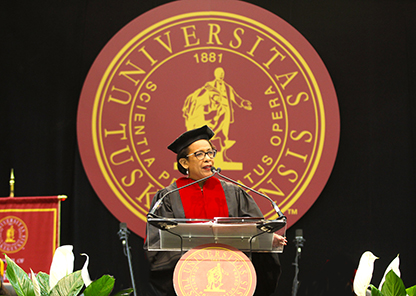 Tuskegee confers more than 500 degrees at May 11 commencement exercises