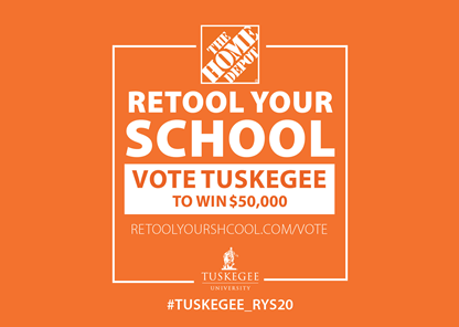 Tuskegee sets sights on $50K Home Depot 'Retool Your School' prize