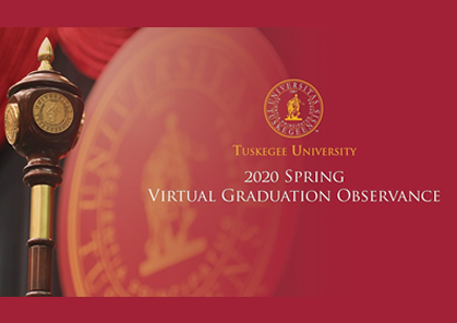 Tuskegee marks Class of 2020 milestone with virtual graduation observance