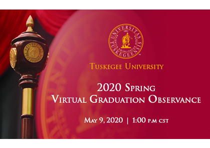 Tuskegee to hold 'virtual graduation observance' on May 9