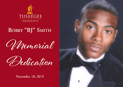 Tuskegee to honor memory of slain former student-athlete 'B.J.' Smith on Nov. 10