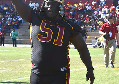 Strength coach challenged Tuskegee Saturday and they responded