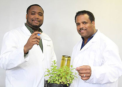 Tuskegee researchers develop greener, plant-based fertilizing system