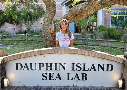 Two from Tuskegee turn the gulf into their summertime classroom