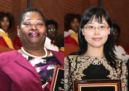 Annual awards honor excellence among faculty, staff