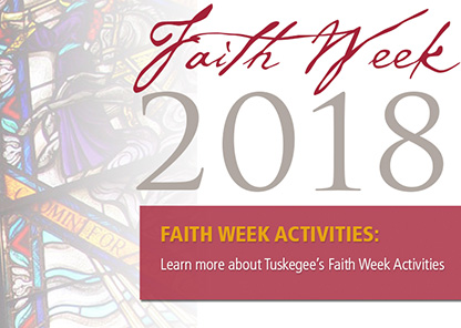 King holiday observance marks start of Tuskegee University's 'Faith Week'