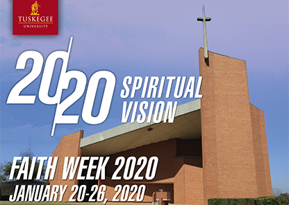 Annual 'Faith Week' celebration Jan. 20-26 to place focus on spiritual vision, service