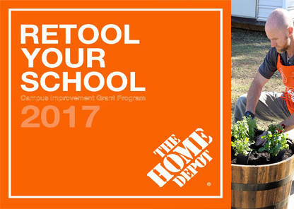 Tuskegee University receives $40,000 Home Depot 'Retool Your School' grant