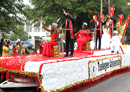 Weeklong homecoming festivities kick off Nov. 3 at Tuskegee