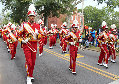 Marching Crimson Pipers among lineup for St. Petersburg MLK Day parade