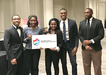 Students put sales, marketing concepts into action at national conference