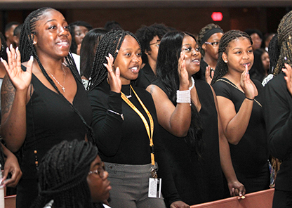 Newest Tuskegee students benefit from 'Golden Tiger Experience' orientation program