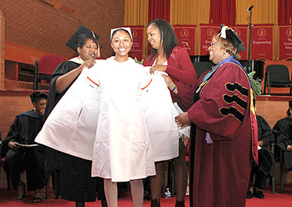 Tuskegee among nursing programs receiving special White Coat Ceremony funding