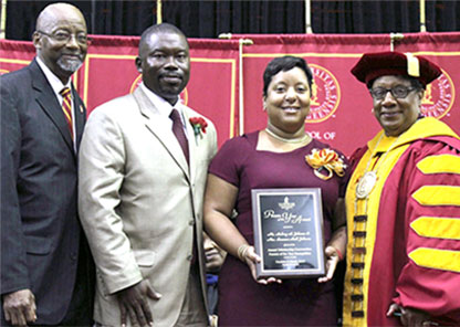 Albuquerque couple honored as Tuskegee's Parents of the Year