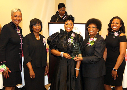 Tuskegee's Pointer honored AKA chapter's 'soror of the year'