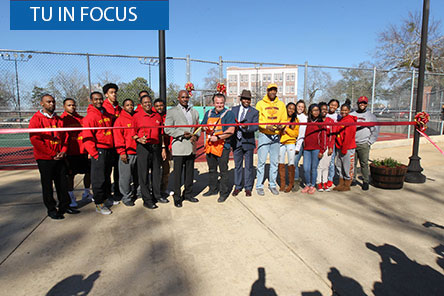Tuskegee holds ribbon-cutting thanks to grant from The Home Depot