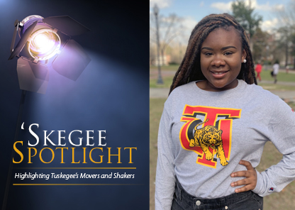 Skegee Spotlight: Janasia Phillips