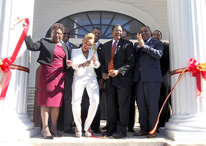 Historic law office building becomes home to Tuskegee National Alumni Association