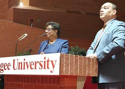Town hall introduces Morris as interim president, outlines plans for TU presidency