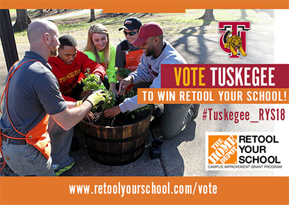 Tuskegee advances to second round of 'Retool Your School' competition