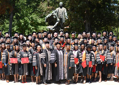 Tuskegee University College of Veterinary Medicine salutes 66 graduates at inaugural commencement