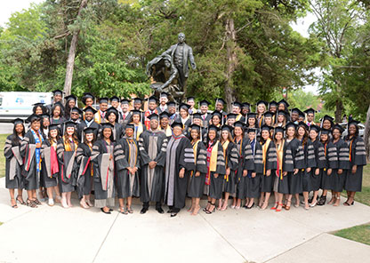 Tuskegee awards 66 DVM degrees, honors three alumni