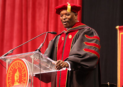P&G's Witherspoon challenges students during spring commencement to 'stay woke'