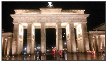 Berlin - picture of famous landmark structure in Berlin