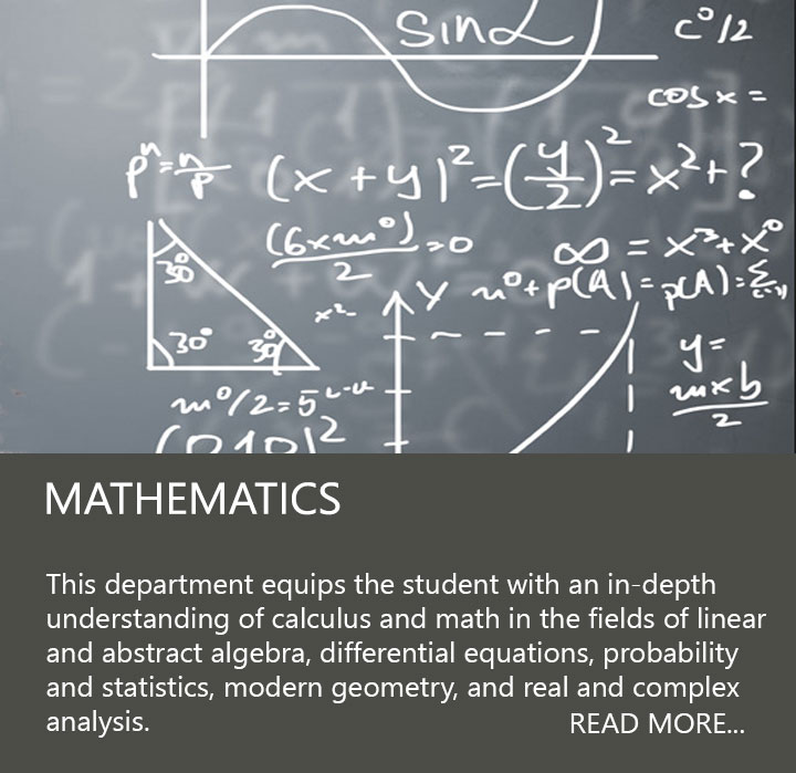 Calculations on a chalkboard