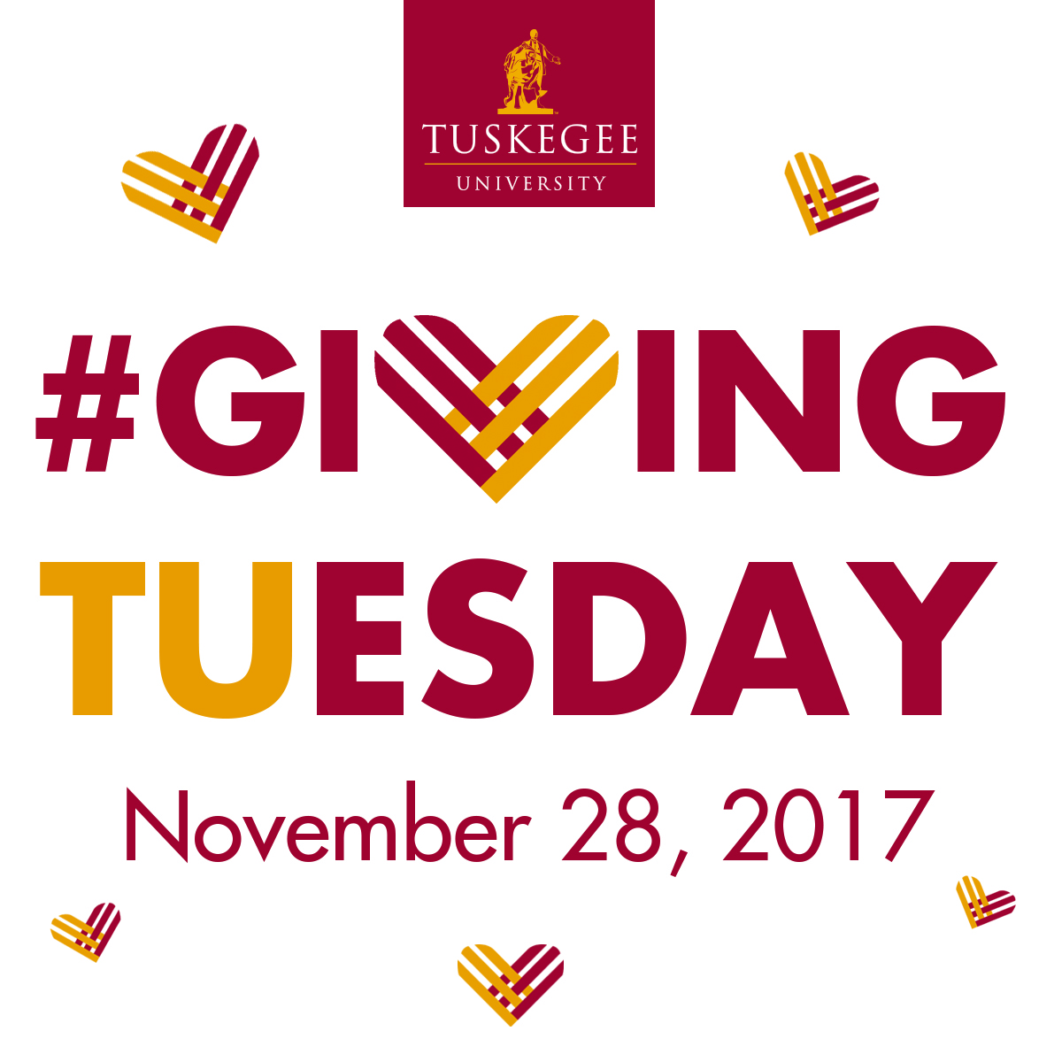Giving Tuesday - November 28, 2017