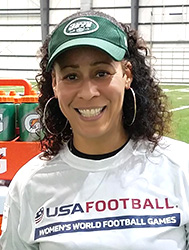 Collette V. Smith, first african american female NFL coach