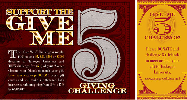 Give Me Five giving appeal image