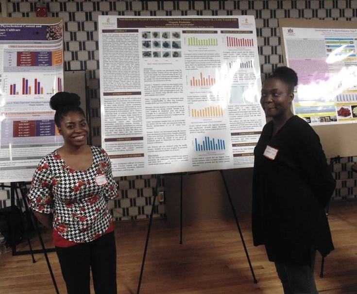 K. Davis and J. Jones Won 2nd Place in Graduate Poster Competition during 2019 IFT SE Section Spring Meeting, Clemson, SC