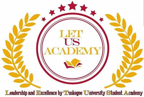 Leadership and Excellence by Tuskegee University Students (LET US) Academy logo