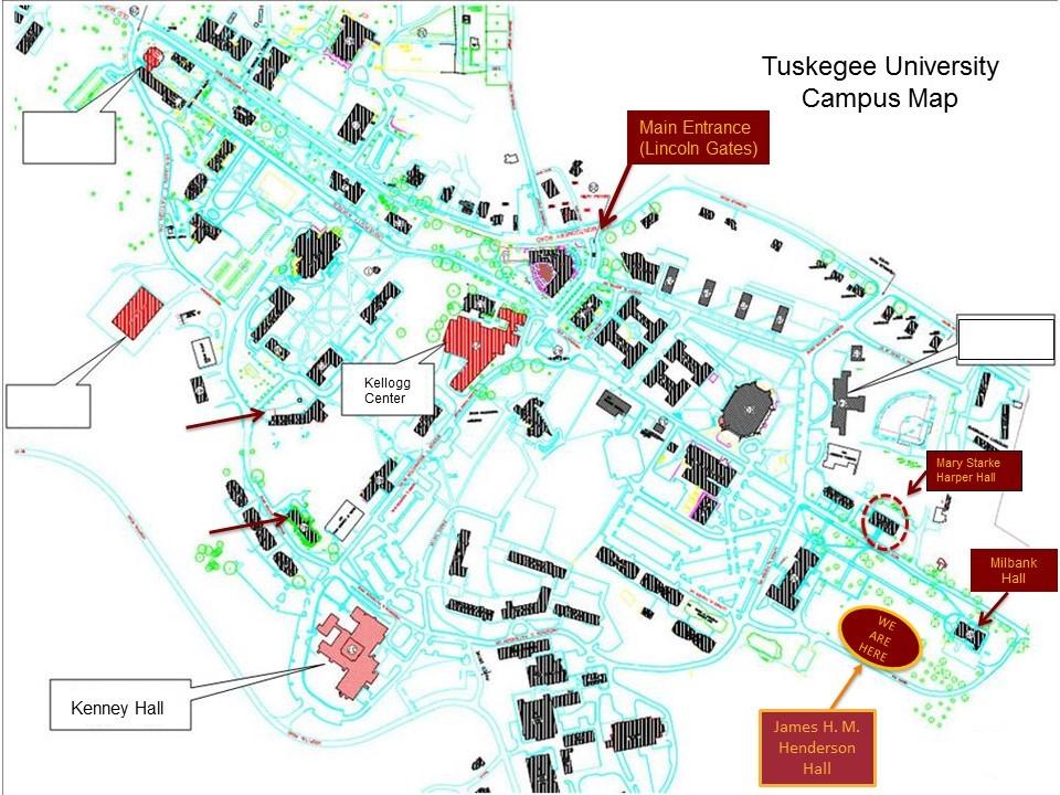 tuskegee university campus map Hackathon Tuskegee University tuskegee university campus map