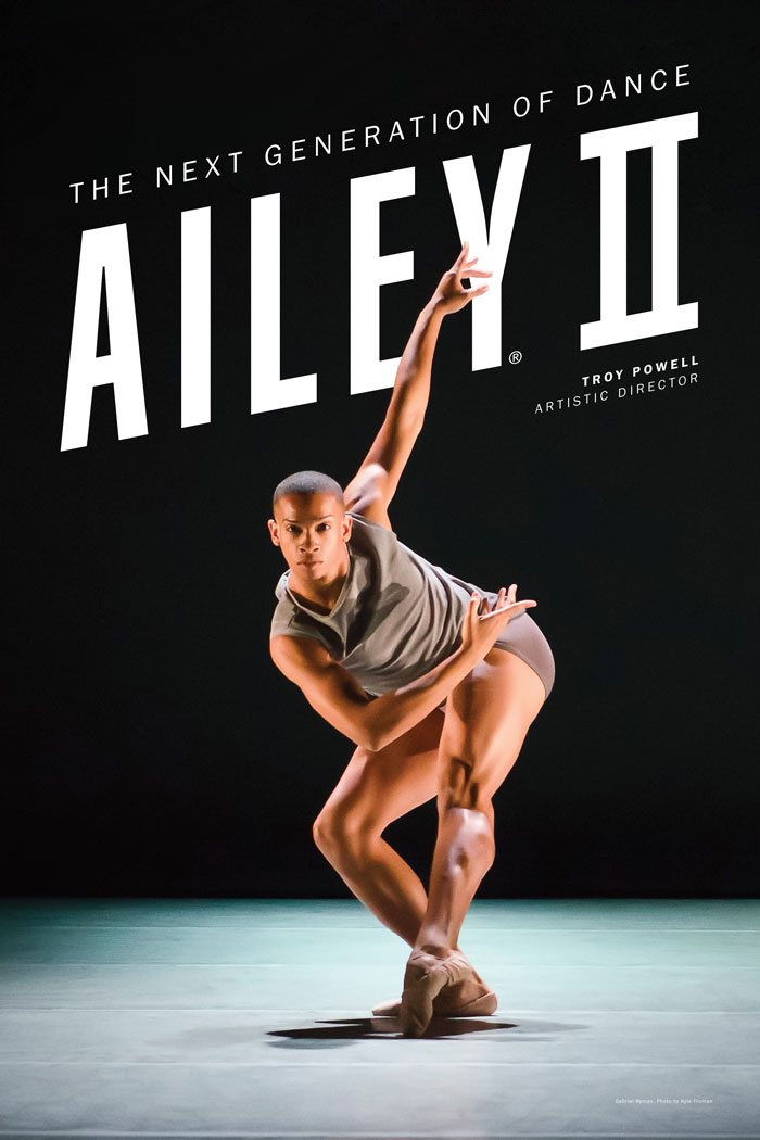 Picture of an Ailey II dancer
