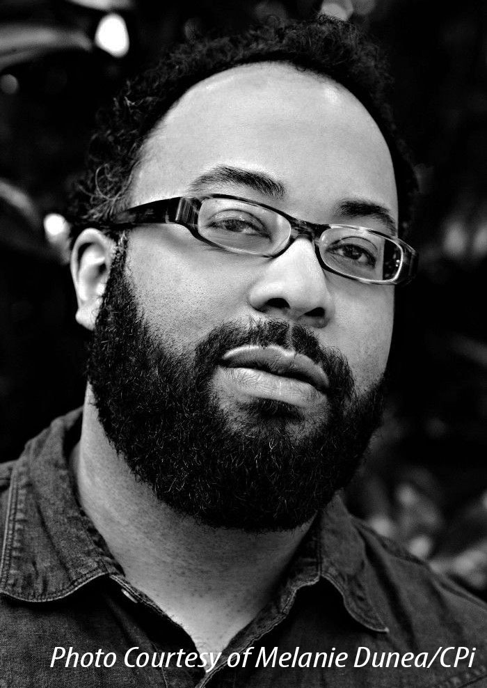 Picture of poet Kevin Young