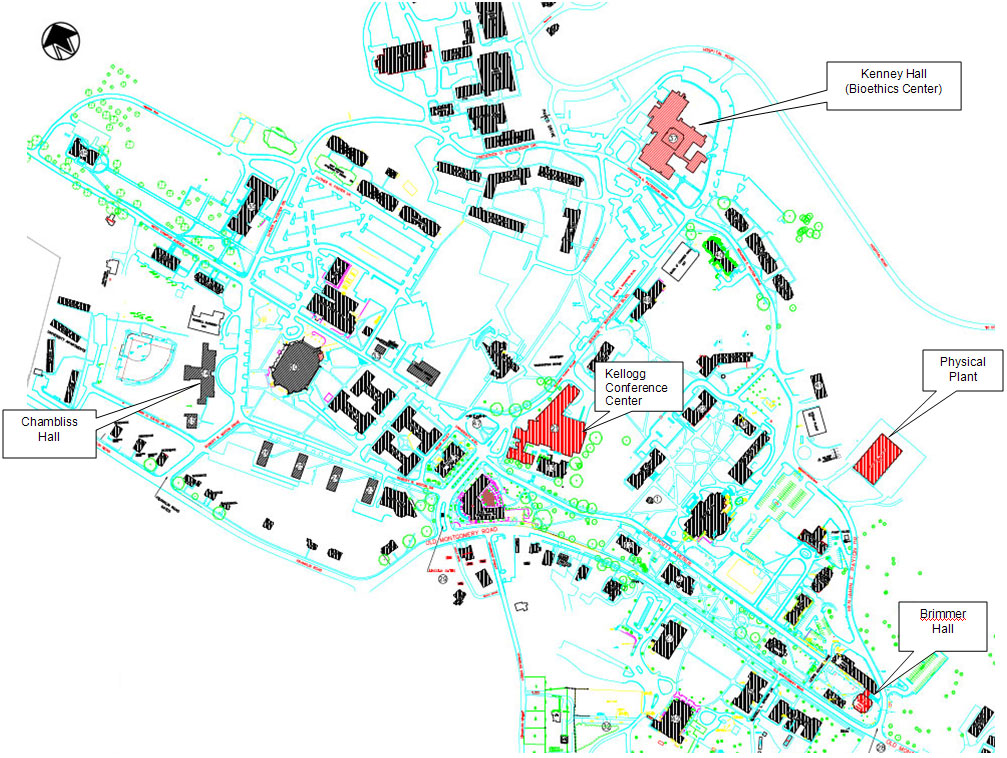 Kellogg Community College Campus Map.Emergency Procedures Tuskegee University