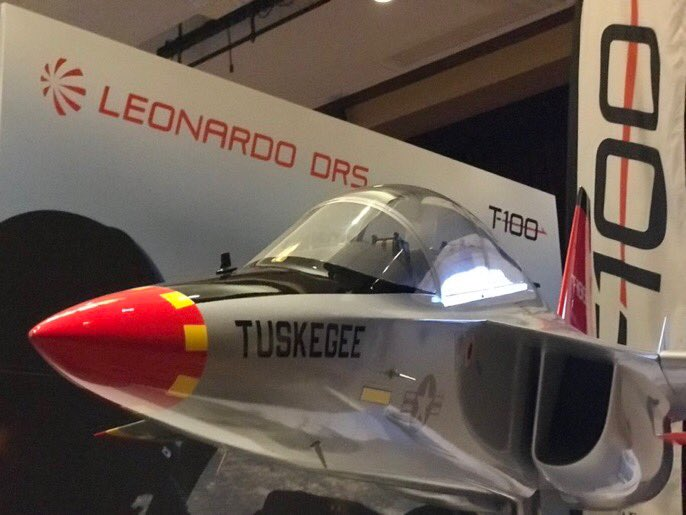 Leonardo DRS' proposed T-100 jet trainer fighter