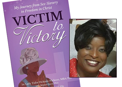 Victim to Victory book cover, author Tisha Dickson-Nickson