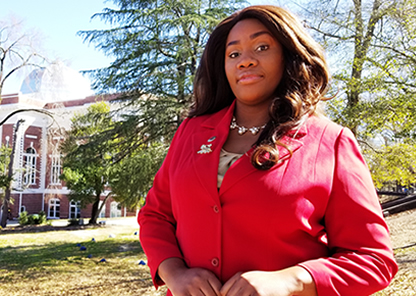 Tameka Harper, new dean of students