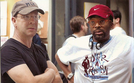 Director Barry Alexander Brown and Executive Producer Spike Lee, photo courtesy of Son of the South Productions